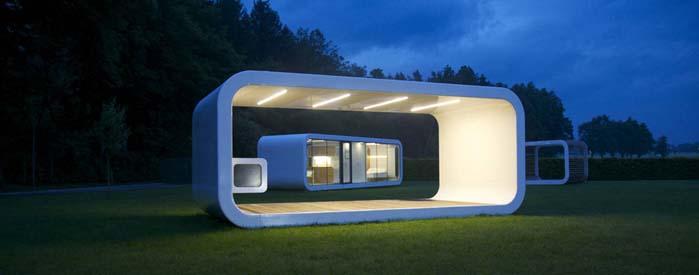 viviendas modulares futuristas