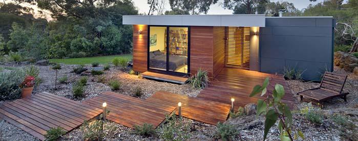 viviendas modulares de madera bonita